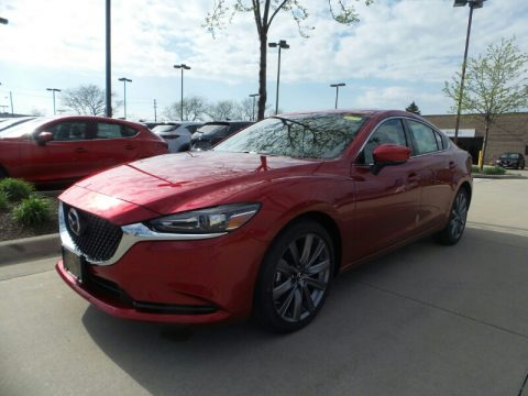 Soul Red Crystal Metallic Mazda Mazda6 Touring.  Click to enlarge.