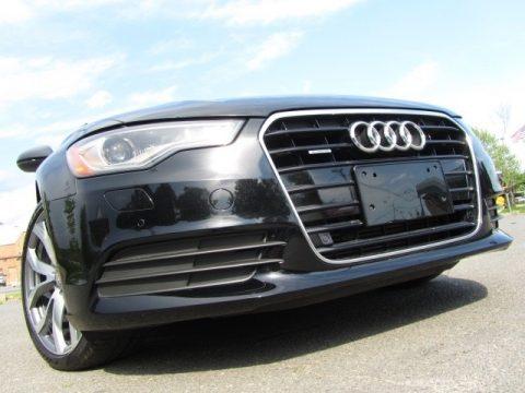Brilliant Black Audi A6 2.0T quattro Sedan.  Click to enlarge.