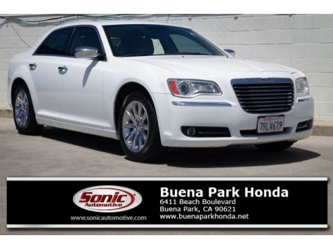 Bright White Chrysler 300 Limited.  Click to enlarge.