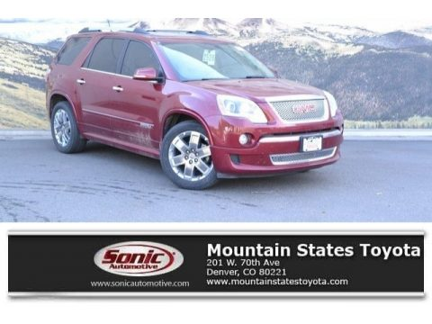 Red Jewel Tintcoat GMC Acadia Denali AWD.  Click to enlarge.