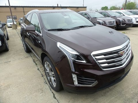 Deep Amethyst Metallic Cadillac XT5 Premium Luxury AWD.  Click to enlarge.