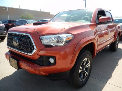 Inferno Toyota Tacoma TRD Sport Double Cab 4x4.  Click to enlarge.