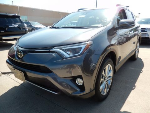 Magnetic Gray Metallic Toyota RAV4 Limited AWD.  Click to enlarge.