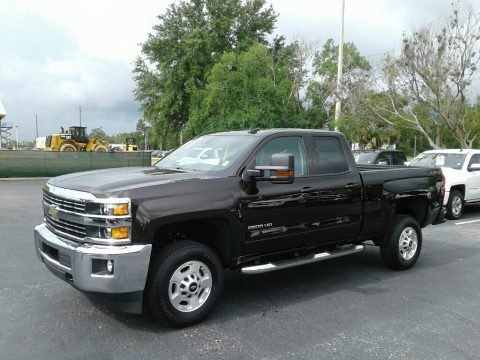 Havana Metallic Chevrolet Silverado 2500HD LT Double Cab 4x4.  Click to enlarge.