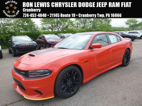 Go Mango Dodge Charger Daytona 392.  Click to enlarge.