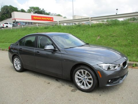Mineral Grey Metallic BMW 3 Series 320i xDrive Sedan.  Click to enlarge.