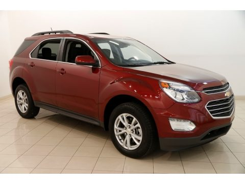 Siren Red Tintcoat Chevrolet Equinox LT AWD.  Click to enlarge.