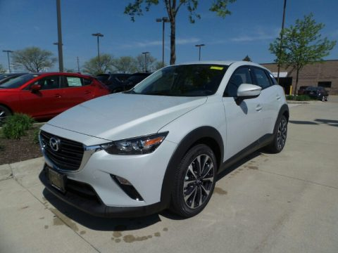 Ceramic Metallic Mazda CX-3 Touring AWD.  Click to enlarge.