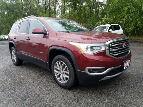 Crimson Red Tintcoat GMC Acadia SLE.  Click to enlarge.