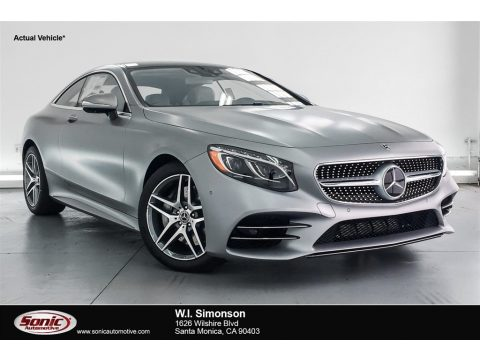 designo Allanite Grey Magno (Matte) Mercedes-Benz S S 560 4Matic Coupe.  Click to enlarge.