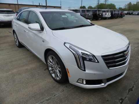 Crystal White Tricoat Cadillac XTS Luxury AWD.  Click to enlarge.