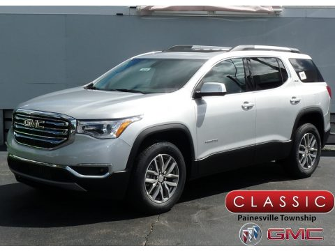 Quicksilver Metallic GMC Acadia SLE AWD.  Click to enlarge.