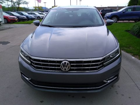 Platinum Gray Metallic Volkswagen Passat SE.  Click to enlarge.