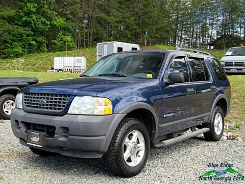 Medium Wedgewood Blue Metallic Ford Explorer XLS 4x4.  Click to enlarge.