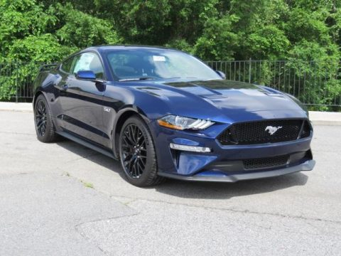 Kona Blue Ford Mustang GT Fastback.  Click to enlarge.
