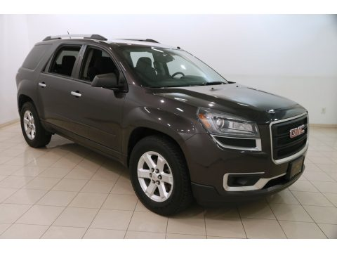 Iridium Metallic GMC Acadia SLE.  Click to enlarge.