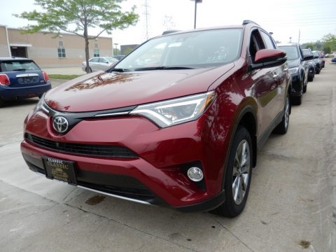 Ruby Flare Pearl Toyota RAV4 Limited AWD.  Click to enlarge.