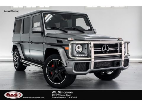 designo Platinum Magno (Matte) Mercedes-Benz G 63 AMG.  Click to enlarge.