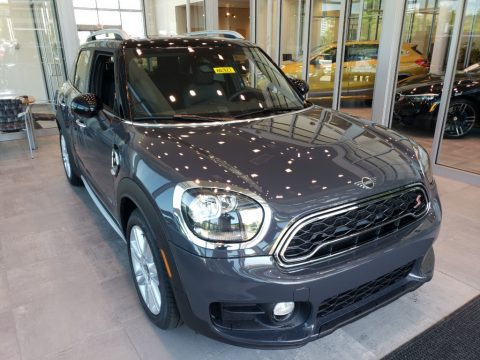 Thunder Grey Mini Countryman Cooper S All4.  Click to enlarge.