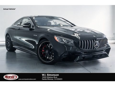 Black Mercedes-Benz S AMG S63 Coupe.  Click to enlarge.
