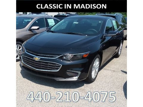 Mosaic Black Metallic Chevrolet Malibu LT.  Click to enlarge.