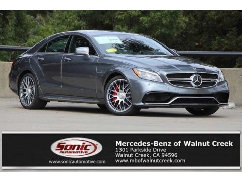 Selenite Grey Metallic Mercedes-Benz CLS AMG 63 S 4Matic Coupe.  Click to enlarge.