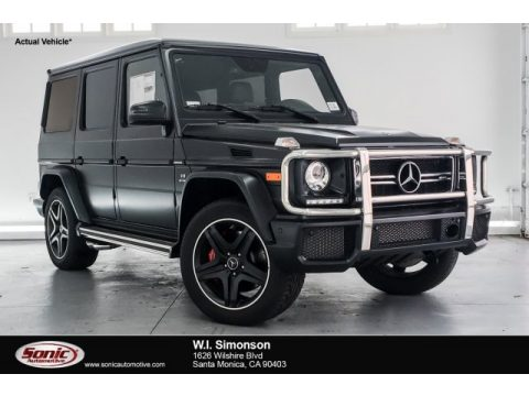 designo Night Black Magno (Matte) Mercedes-Benz G 63 AMG.  Click to enlarge.