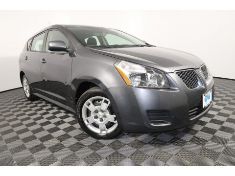 Carbon Gray Metallic Pontiac Vibe 2.4.  Click to enlarge.