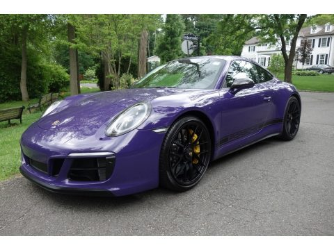 Ultraviolet Porsche 911 Carrera GTS Coupe.  Click to enlarge.