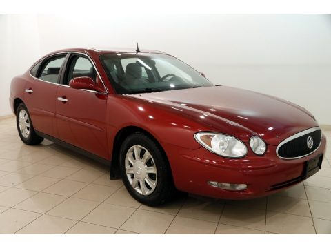 Cardinal Red Metallic Buick LaCrosse CX.  Click to enlarge.