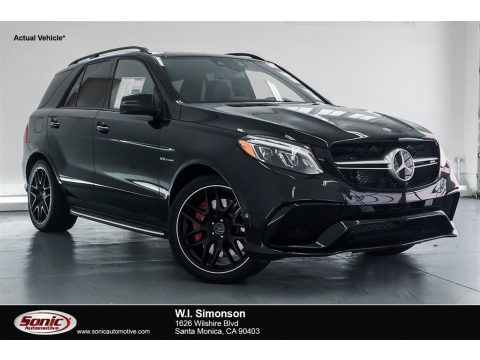 Obsidian Black Metallic Mercedes-Benz GLE 63 S AMG 4Matic.  Click to enlarge.