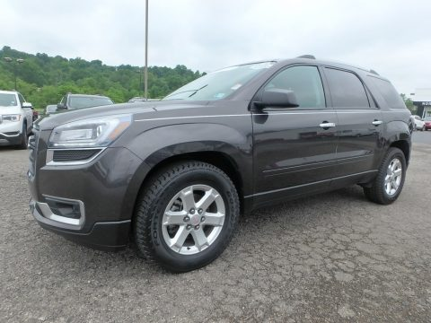 Iridium Metallic GMC Acadia SLE AWD.  Click to enlarge.
