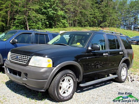 Black Ford Explorer XLS.  Click to enlarge.