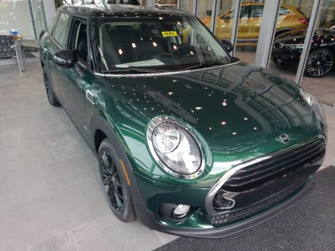 British Racing Green II Mini Clubman Cooper All4.  Click to enlarge.