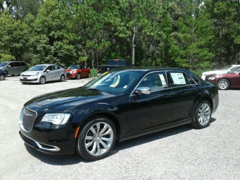 Gloss Black Chrysler 300 Touring.  Click to enlarge.