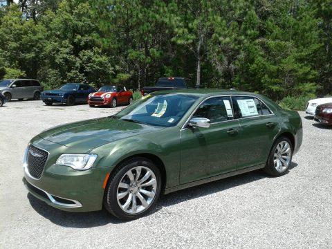 Green Metallic Chrysler 300 Touring.  Click to enlarge.