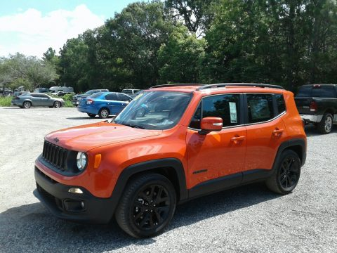 Omaha Orange Jeep Renegade Altitude.  Click to enlarge.