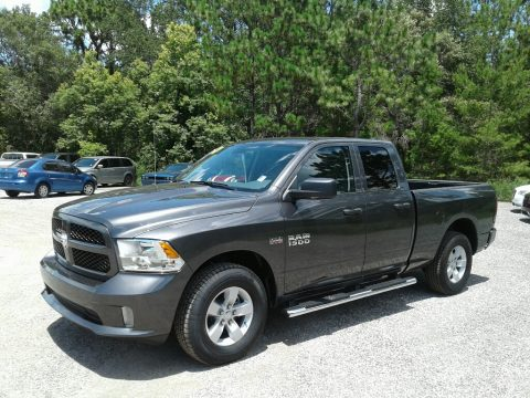 Granite Crystal Metallic Ram 1500 Express Quad Cab.  Click to enlarge.