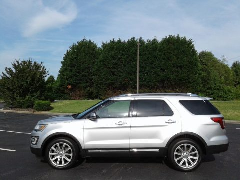 Ingot Silver Ford Explorer Limited 4WD.  Click to enlarge.