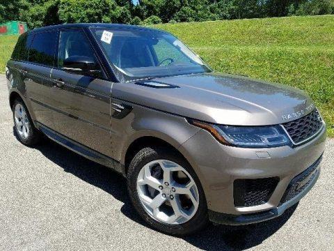 Kiakoura Stone Metallic Land Rover Range Rover Sport HSE.  Click to enlarge.