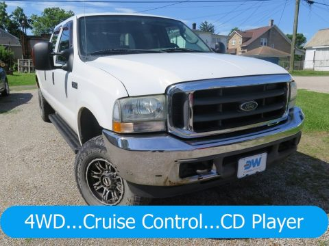 Oxford White Ford F250 Super Duty XLT Crew Cab 4x4.  Click to enlarge.
