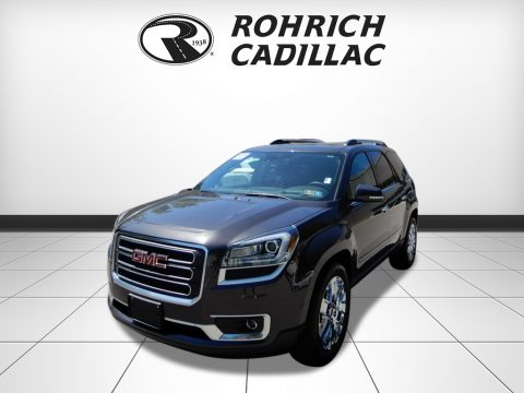 Sparkling Silver Metallic GMC Acadia Limited AWD.  Click to enlarge.