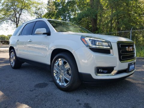 Summit White GMC Acadia Limited AWD.  Click to enlarge.