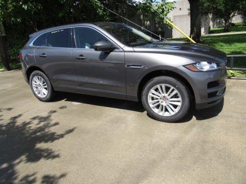 Corris Grey Metallic Jaguar F-PACE 25t AWD Prestige.  Click to enlarge.