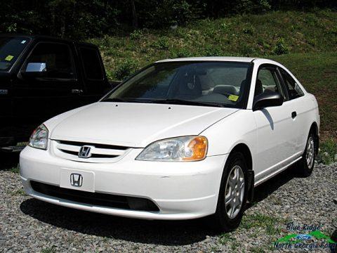 Taffeta White Honda Civic LX Coupe.  Click to enlarge.