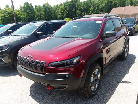 Velvet Red Pearl Jeep Cherokee Trailhawk 4x4.  Click to enlarge.