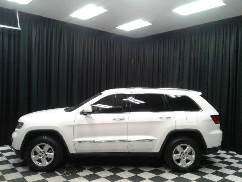 Stone White Jeep Grand Cherokee Laredo.  Click to enlarge.