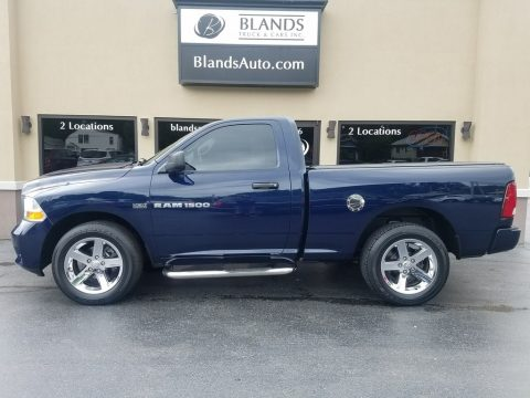 True Blue Pearl Dodge Ram 1500 ST Regular Cab 4x4.  Click to enlarge.