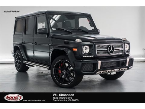 designo Night Black Magno (Matte) Mercedes-Benz G 65 AMG.  Click to enlarge.