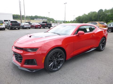 Red Hot Chevrolet Camaro ZL1 Coupe.  Click to enlarge.